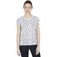 camiseta Trespass Charlene - White Floral - women´s
