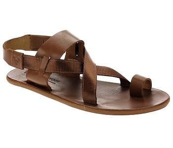 boty Vivobarefoot Kuru Sandal Acorn W - Tan