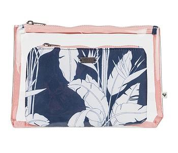 kosmetická taška Roxy Paradise Motion - BSP6/Mood Indigo Flying Flowers S