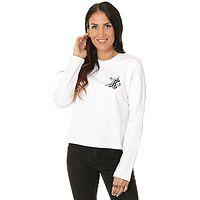 Sweatshirt Santa Cruz Floral Dot Crew - White - women´s