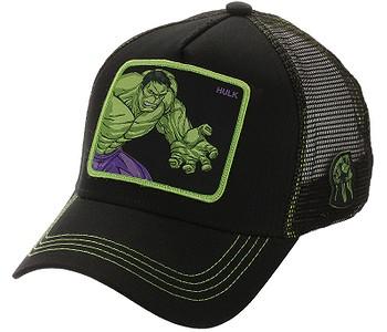 kšiltovka Capslab Marvel Trucker - Hulk/Black