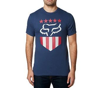 tričko Fox Freedom Shield - Light Indigo