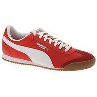 topánky Puma Turino NL - Hight Risk Red/Puma White/Gum