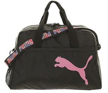 taška Puma At Ess Grip - Puma Black/Bubblegum