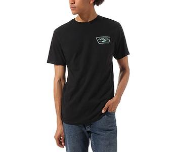 tričko Vans Full Patch Back - Black/Dusty Jade