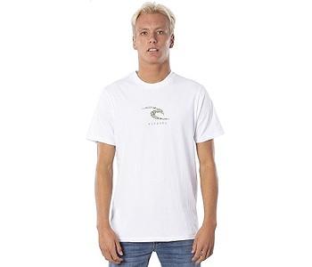 tričko Rip Curl K-Fish Wave - White