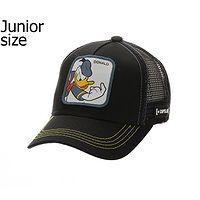 casquette Capslab Disney Trucker Youth - Donald/Black - unisex junior