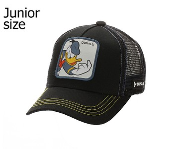 kšiltovka Capslab Disney Trucker Youth - Donald/Black