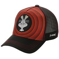 casquette Capslab Looney Tunes Trucker - Bugs Bunny/Red/Black - men´s