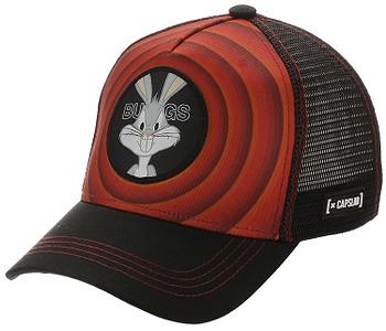 kšiltovka Capslab Looney Tunes Trucker - Bugs Bunny/Red/Black