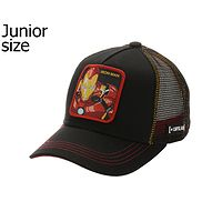 gorra con visera Capslab Marvel Trucker Youth - Iron Man/Black - unisex junior