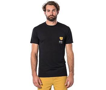 tričko Rip Curl Ramen Vpc - Black