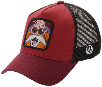 kšiltovka Capslab Dragon Ball Z Trucker - Kame/Red