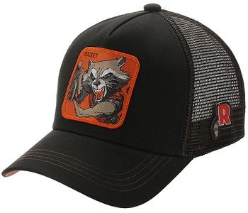 kšiltovka Capslab Marvel Trucker - Rocket/Black