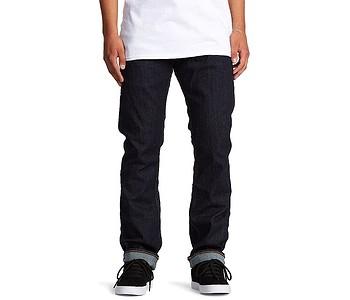 jeans DC Worker Straight Stretch Indigo Rinse - BTKW/Indigo Rinse