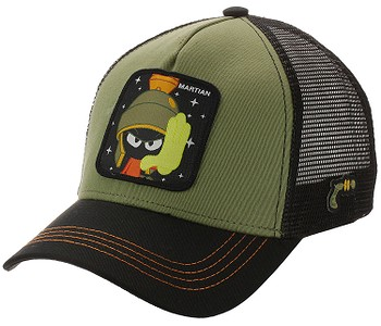 kšiltovka Capslab Looney Tunes Trucker - Marvin The Martian/Khaki