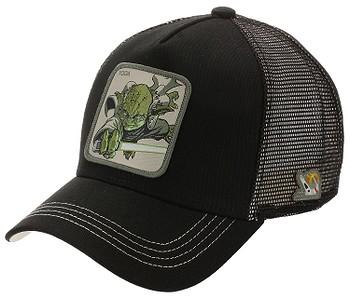 kšiltovka Capslab Star Wars Trucker - Yoda/Black
