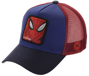 kšiltovka Capslab Marvel Trucker - Spider Man/Royal Blue