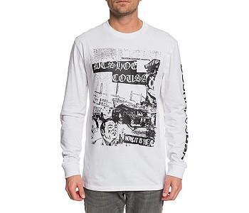 tričko DC Pioneer Sky LS - WBB0/White