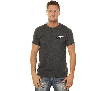 tričko Alpinestars Neu Ageless - Charcoal Heather/White