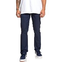 pantalon DC Worker Slim - BTL0/Black Iris - men´s