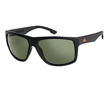 brýle Quiksilver Transmission Polarized Floatable - XKGG/Matte Black/Green Polarized