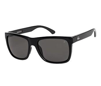 brýle Quiksilver Charger Polarized - XKSS/Shiny Black/Polarized Gray