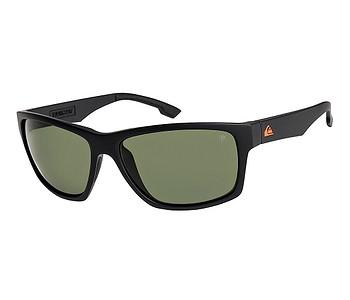 brýle Quiksilver Trailway Polarized Floatable - XKGG/Matte Black/Green Polarized
