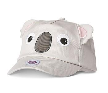kšiltovka Affenzahn Koala - Gray/Pink