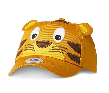 kšiltovka Affenzahn Tiger - Yellow/Brown