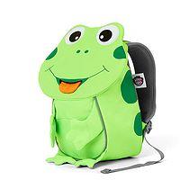 batoh Affenzahn Frog Small - Neon Green