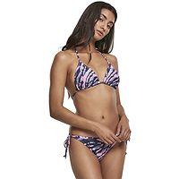 maillot de bain Urban Classics Tie Dye Bikini/TB3460 - Dark Shadow/Pink - women´s