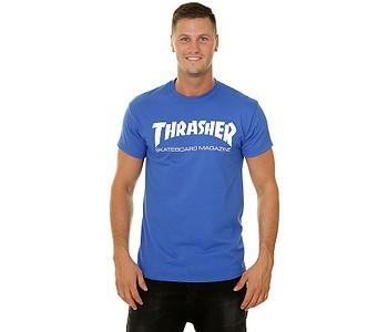 tričko Thrasher Skate Mag - Royal Blue