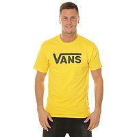 T-Shirt Vans Classic - Lemon Chrome - men´s