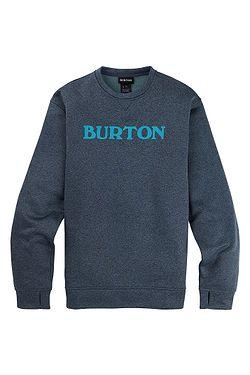 sweatshirt Burton Oak Crew - Dress Blue Heather - men´s