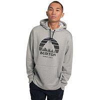 Sweatshirt Burton Oak Seasonal Pullover - Gray Heather - men´s