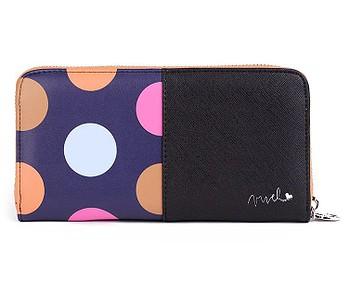 peněženka Vuch Tramy - Black/Multicolor Dots
