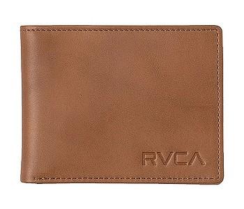 peněženka RVCA Crest Bifold - Tan
