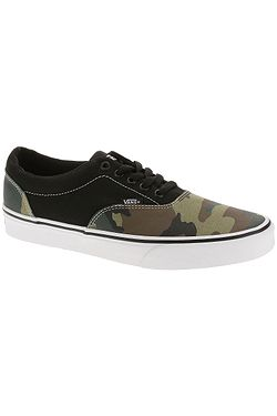 shoes Vans Doheny - Mixed Camo/Black/White - men´s