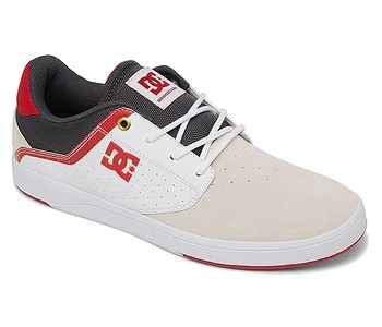 boty DC Plaza TC SP - WYR/White/Gray/Red