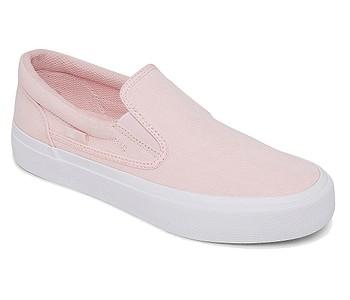 boty DC Trase Slip-On - LTP/Light Pink