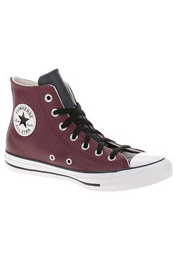 boty Converse Chuck Taylor All Star Leather Hi - 168539/Team Red/Obsidian/White