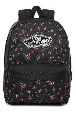backpack Vans Realm - Beauty Floral Black - women´s