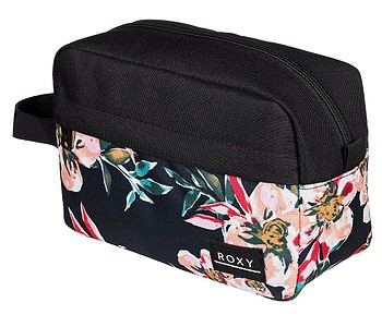 kosmetická taška Roxy Beautifully - XKMR/Anthracite Wonder Garden S