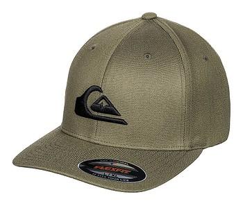kšiltovka Quiksilver Mountain and Wave Flexfit - GRD0/Antique Green