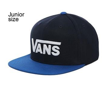 kšiltovka Vans Drop V II Snapback Youth - Dress Blues/Victoria Blue