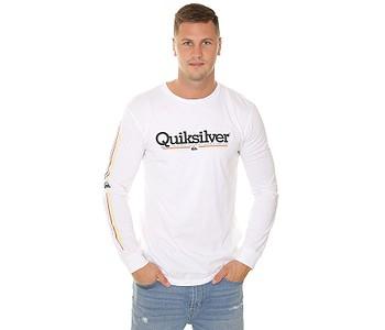 tričko Quiksilver Tropical Lines LS - WBB0/White