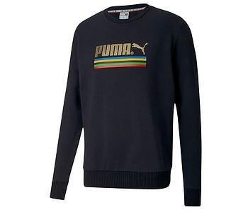 mikina Puma TFS WH Crew - Puma Black