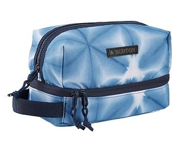 kosmetická taška Burton Low Maintenance Kit - Blue Dailola Shibori