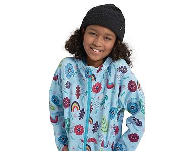 mikina Burton Crown Weatherproof Fleece Zip - Embroidered Floral